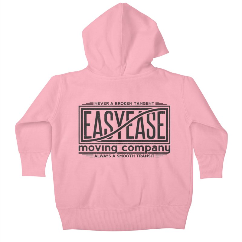 Easy Ease Kids Baby Zip-Up Hoody by Teeframed