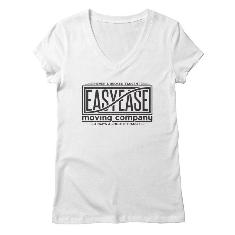 Easy Ease Women's Regular V-Neck by Teeframed
