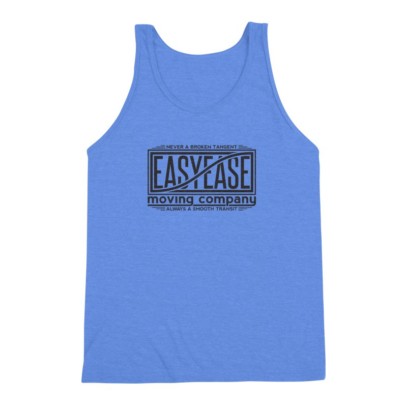 Easy Ease Men's Triblend Tank by Teeframed