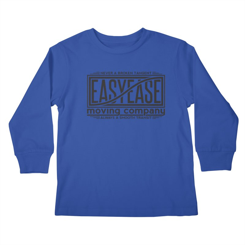 Easy Ease Kids Longsleeve T-Shirt by Teeframed