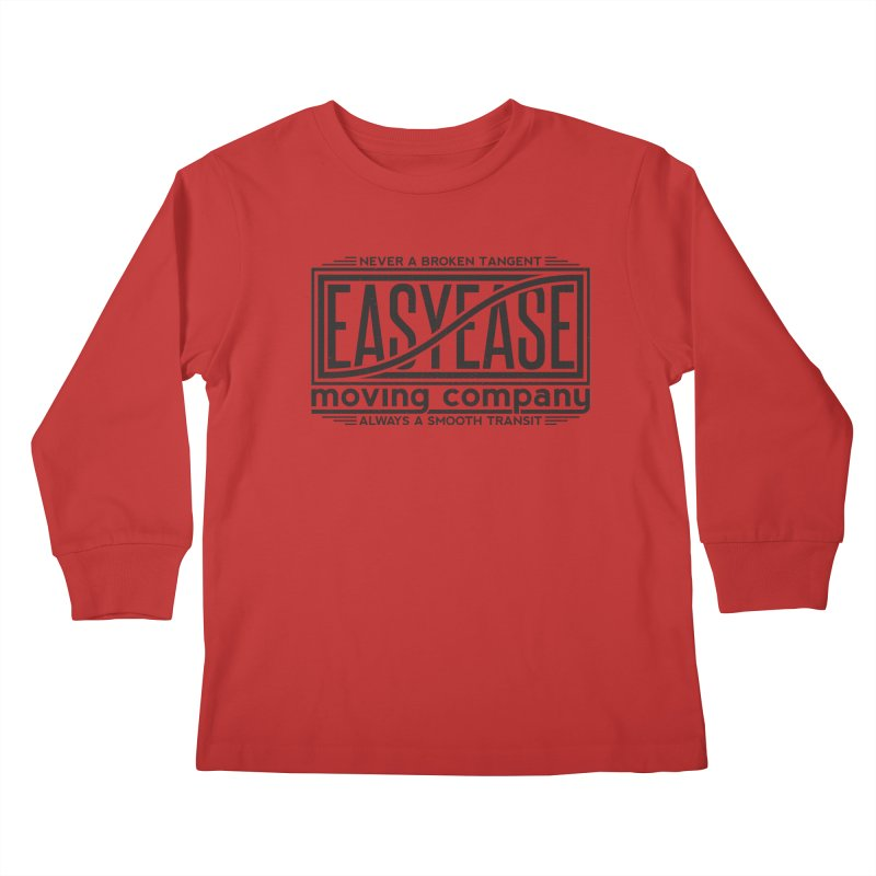 Easy Ease Kids Longsleeve T-Shirt by Teeframed