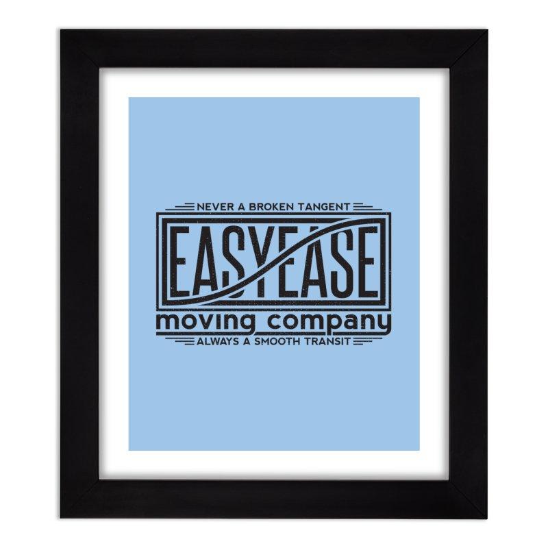 Easy Ease Home Framed Fine Art Print by Teeframed