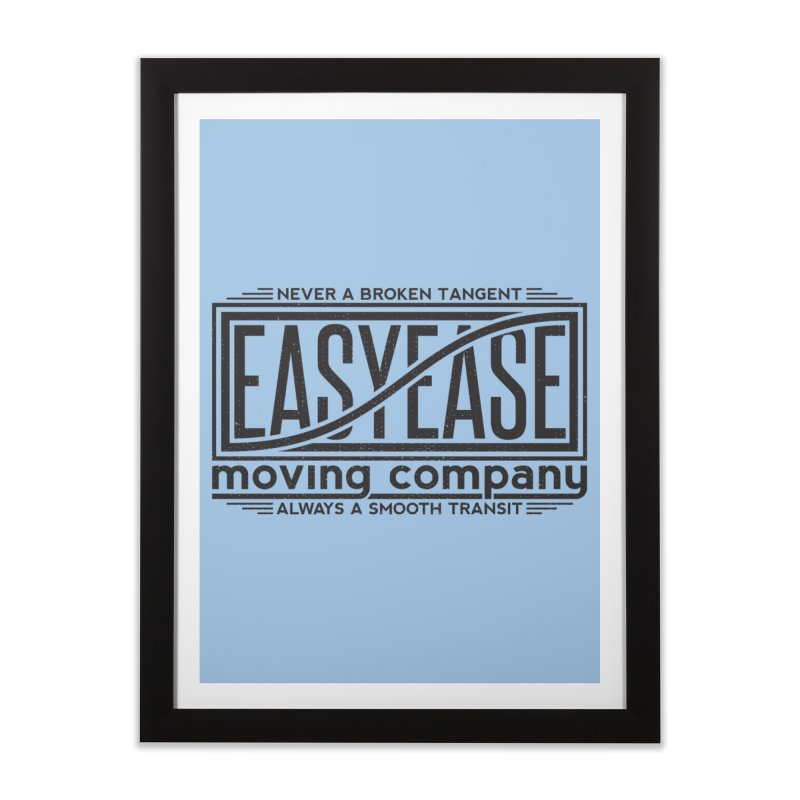 Easy Ease Home Framed Fine Art Print by Teeframed