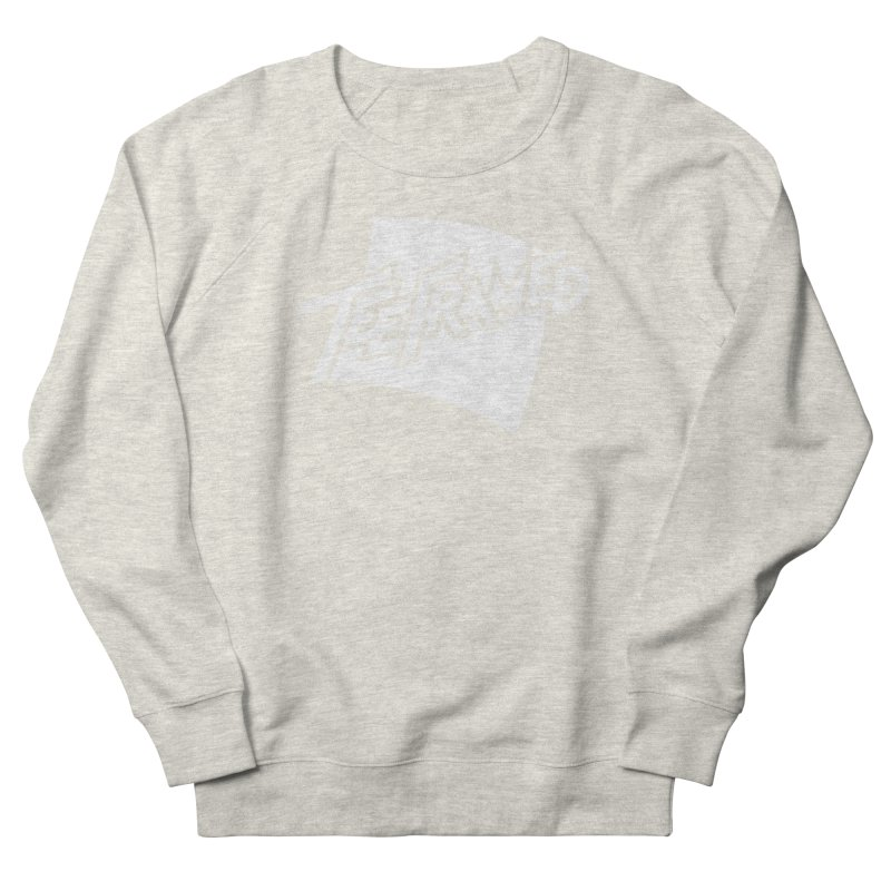 Teeframed - White Logo Men's Sweatshirt by Teeframed