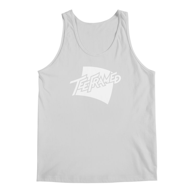 Teeframed - White Logo Men's Regular Tank by Teeframed