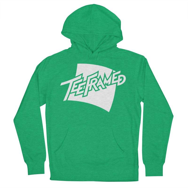 Teeframed - White Logo Men's Pullover Hoody by Teeframed
