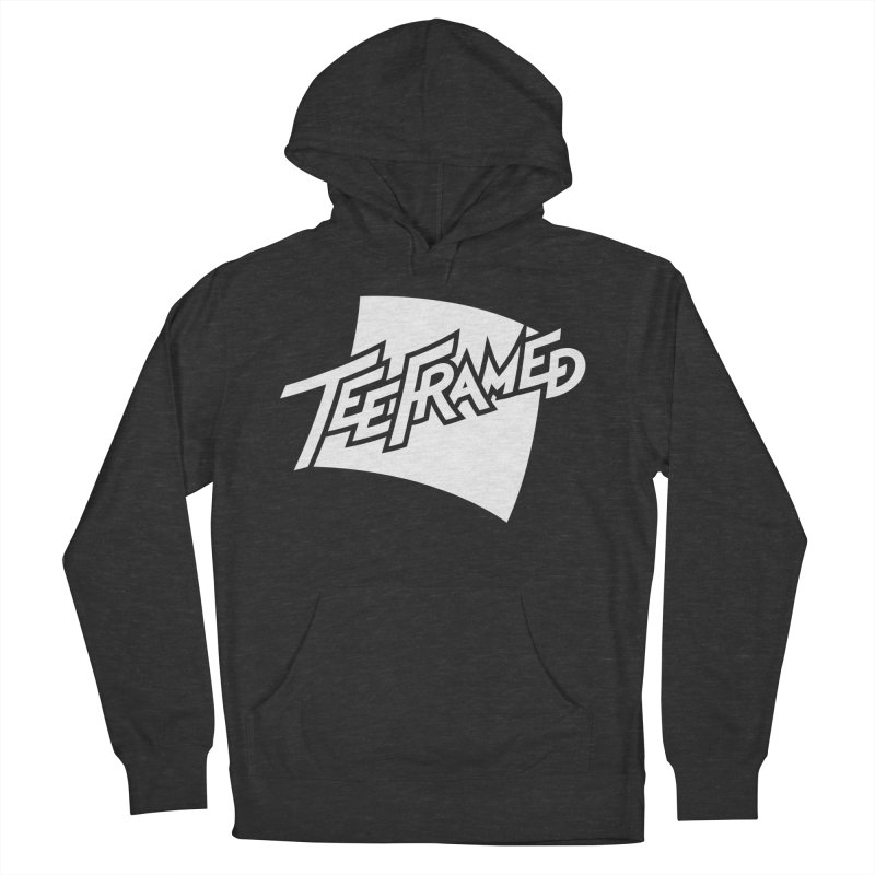 Teeframed - White Logo Men's Pullover Hoody by Teeframed