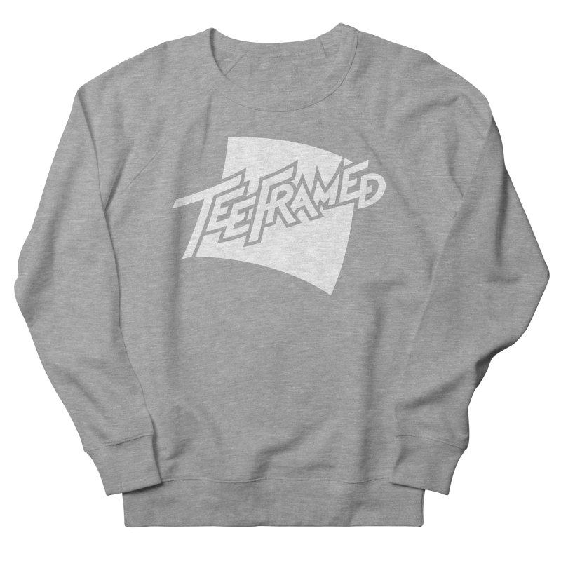 Teeframed - White Logo Women's Sweatshirt by Teeframed