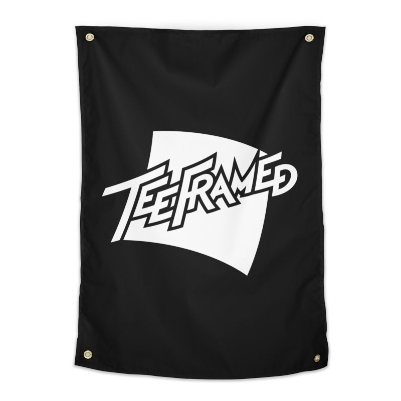 Teeframed - White Logo   by Teeframed