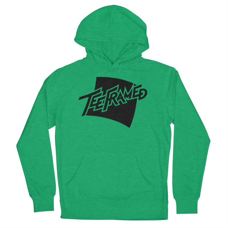 Teeframed - Black Logo Women's Pullover Hoody by Teeframed