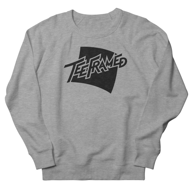 Teeframed - Black Logo Men's Sweatshirt by Teeframed