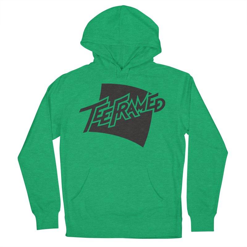 Teeframed - Black Logo Men's Pullover Hoody by Teeframed