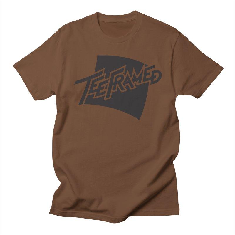 Teeframed - Black Logo Women's Unisex T-Shirt by Teeframed
