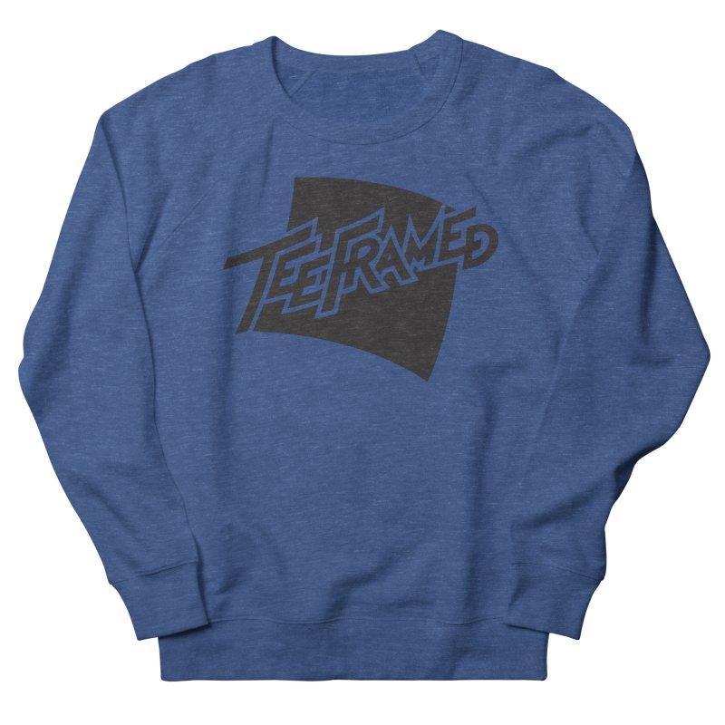 Teeframed - Black Logo Women's Sweatshirt by Teeframed