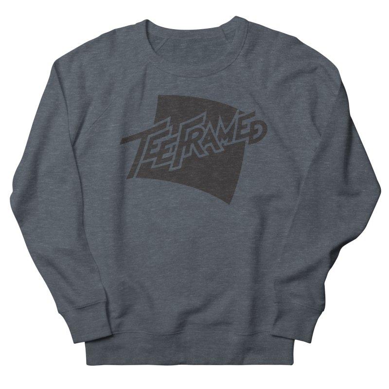 Teeframed - Black Logo Men's Sweatshirt by Teeframed