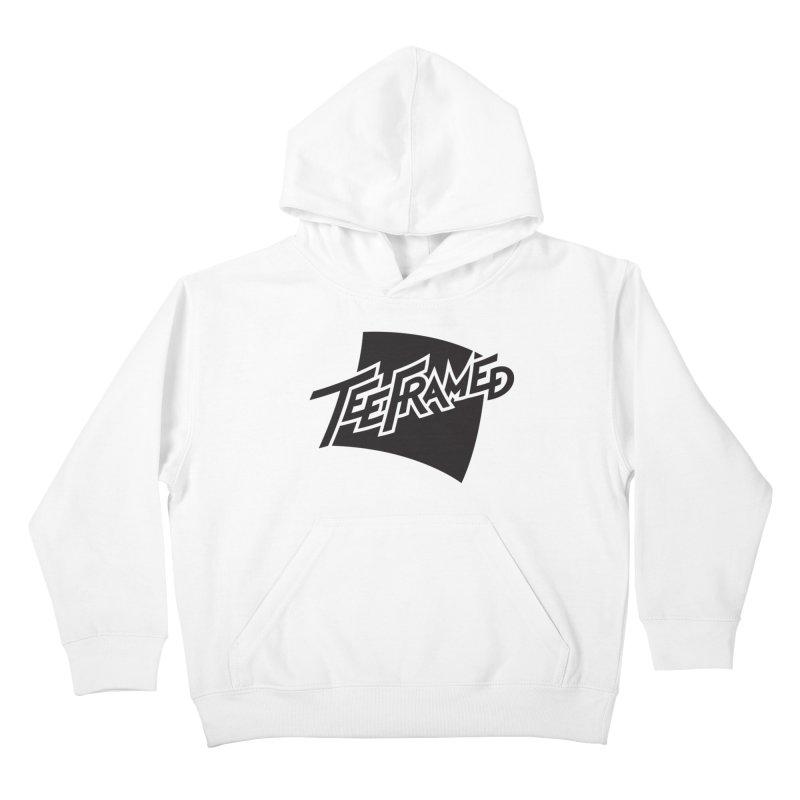 Teeframed - Black Logo Kids Pullover Hoody by Teeframed