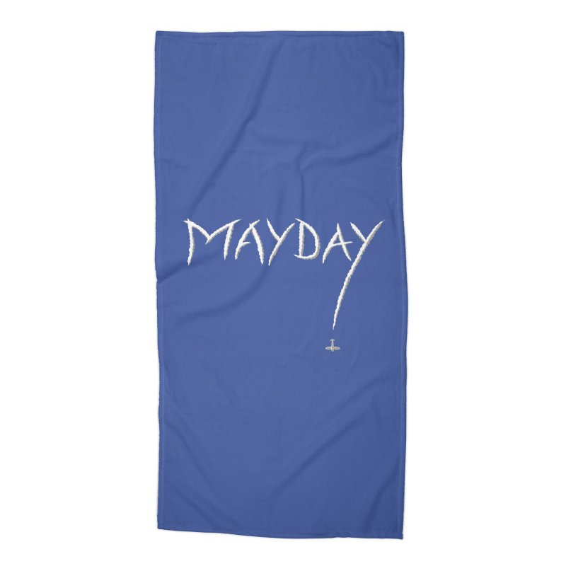 MAYDAY! Accessories Beach Towel by Teeframed