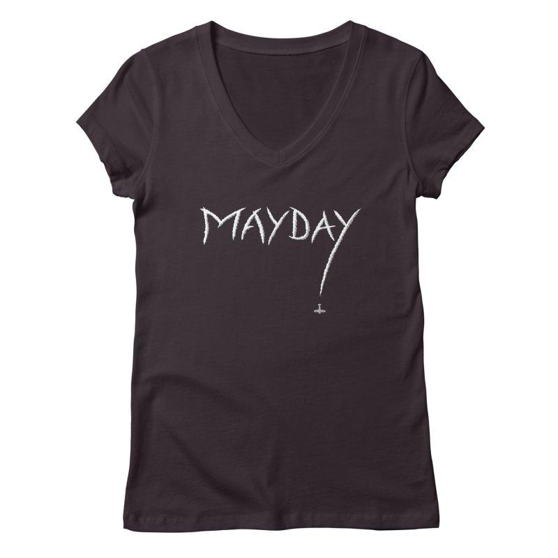 MAYDAY! Women's V-Neck by Teeframed