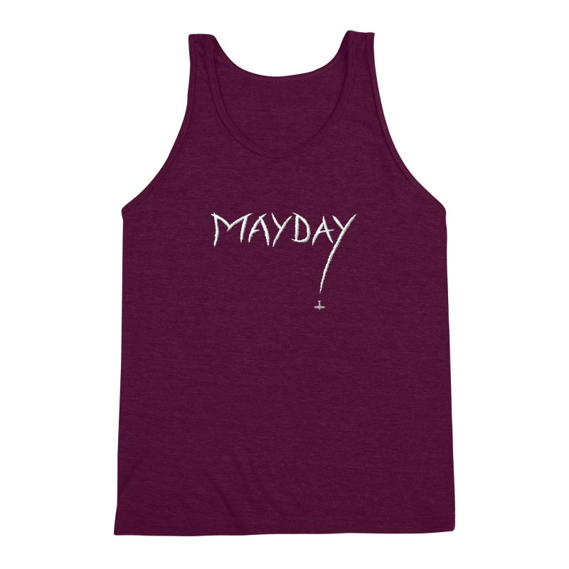 MAYDAY! Men's Triblend Tank by Teeframed