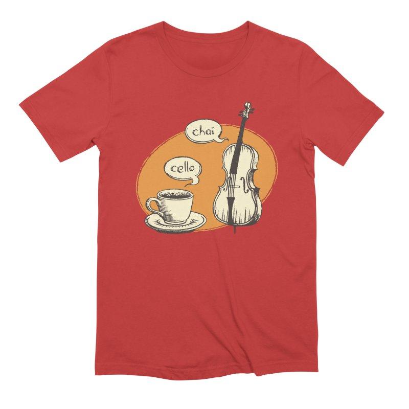 Hi. Hello. Men's Extra Soft T-Shirt by Teeframed