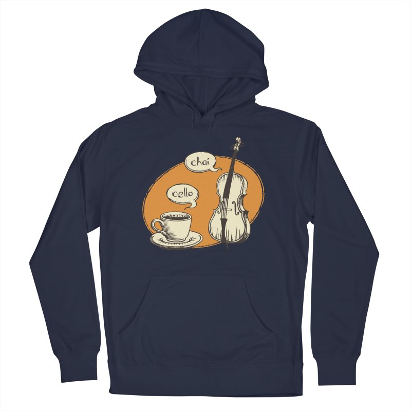 Hi. Hello. Women's French Terry Pullover Hoody by Teeframed