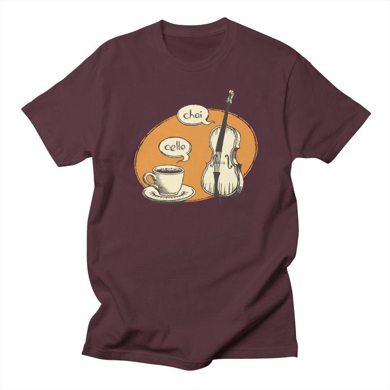 Hi. Hello. Men's Regular T-Shirt by Teeframed