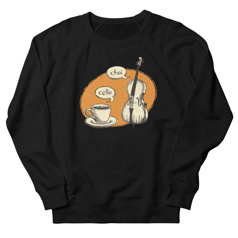 Hi. Hello. Women's French Terry Sweatshirt by Teeframed