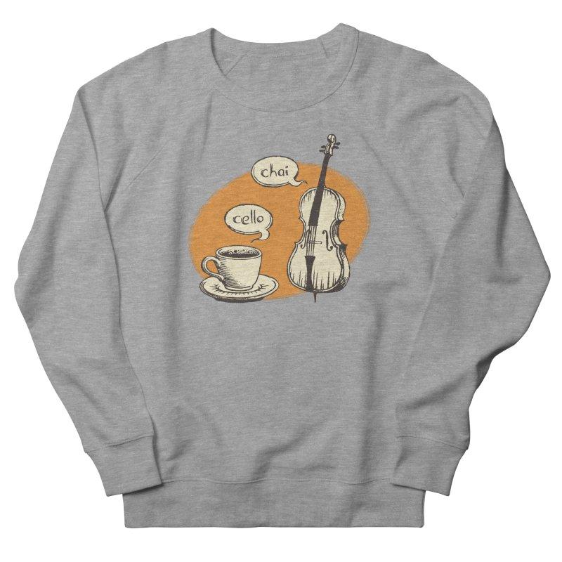 Hi. Hello. Men's French Terry Sweatshirt by Teeframed