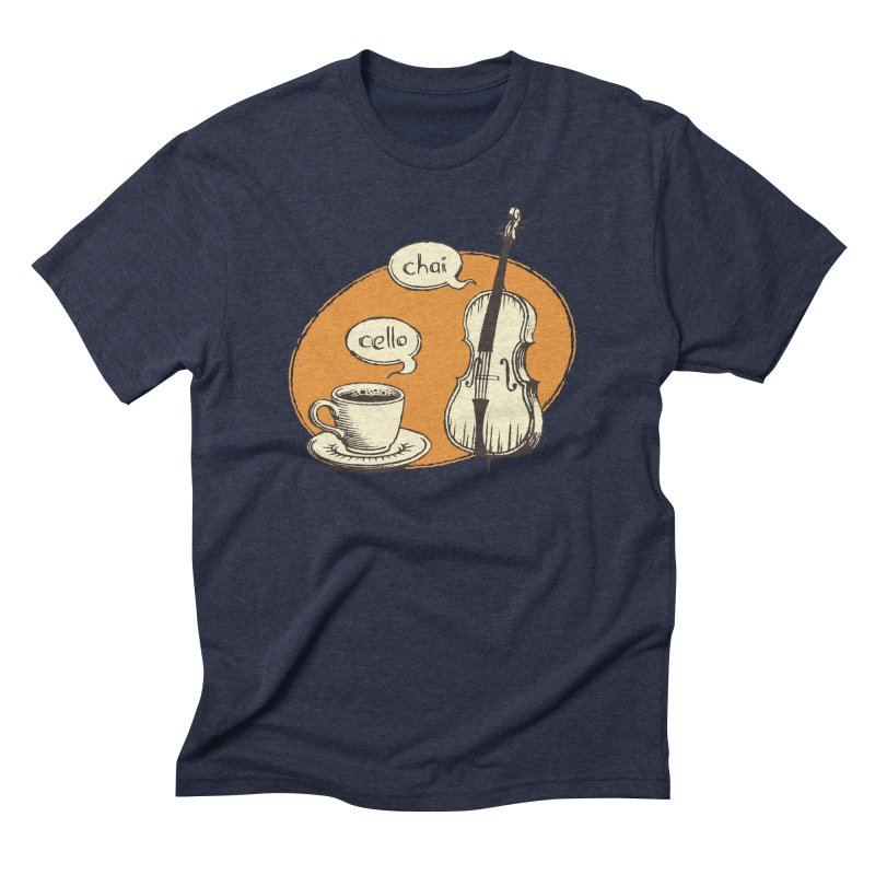 Hi. Hello. Men's Triblend T-Shirt by Teeframed