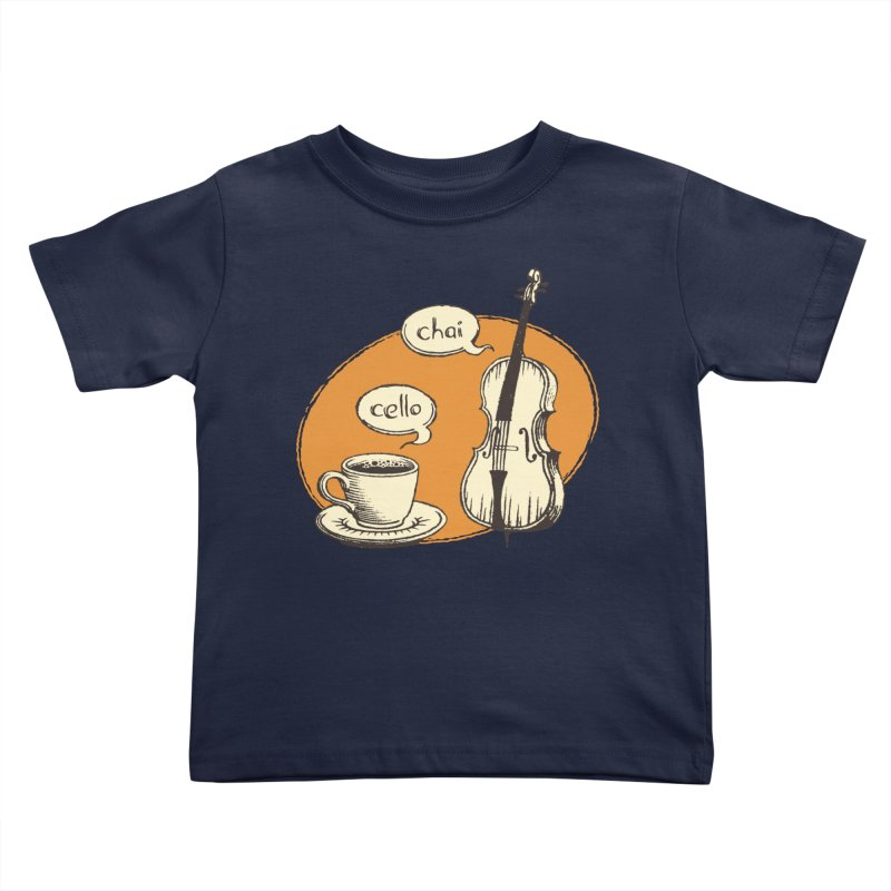 Hi. Hello. Kids Toddler T-Shirt by Teeframed