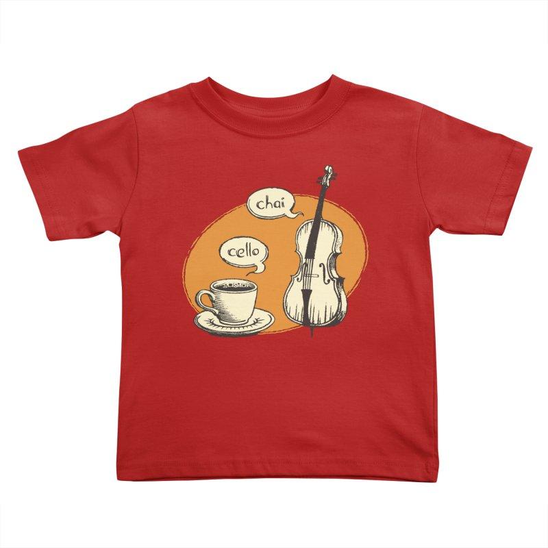 Hi. Hello. Kids Toddler T-Shirt by Teeframed