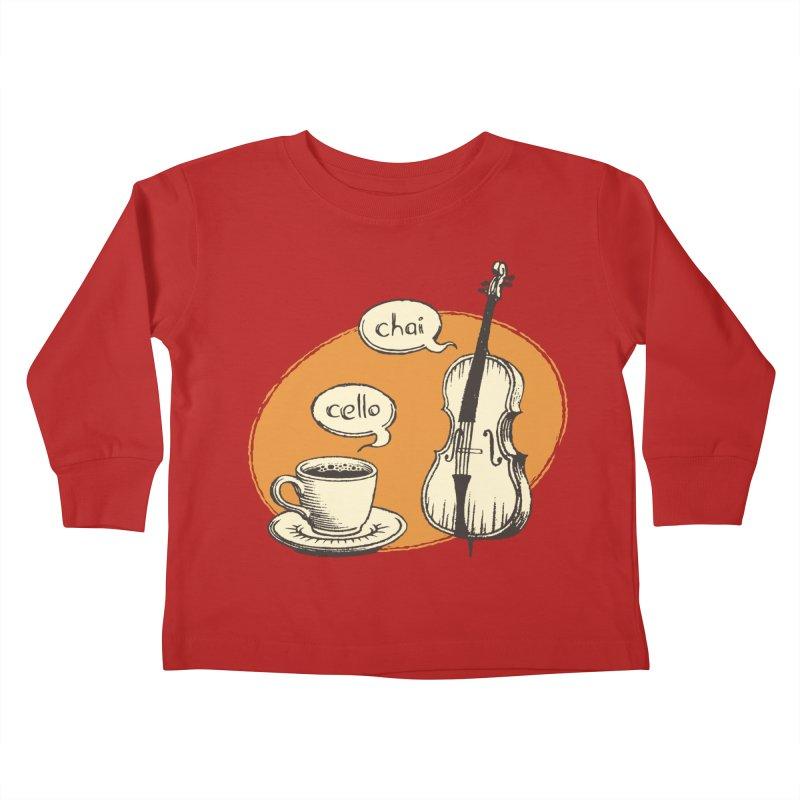 Hi. Hello. Kids Toddler Longsleeve T-Shirt by Teeframed