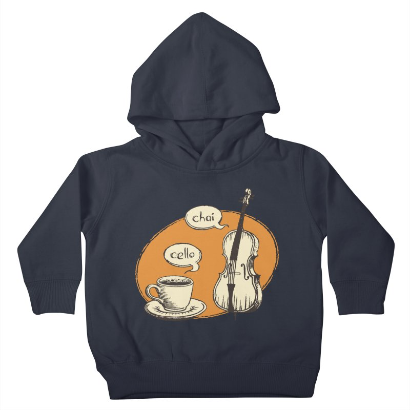 Hi. Hello. Kids Toddler Pullover Hoody by Teeframed