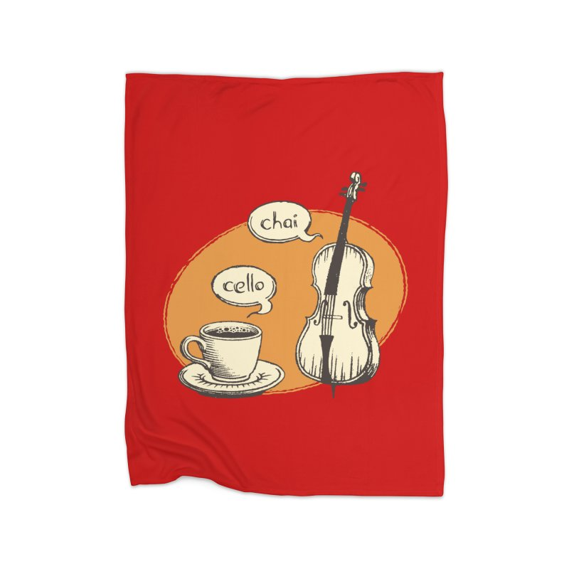 Hi. Hello. Home Blanket by Teeframed