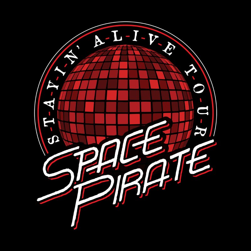 Space Pirate Accessories Beach Towel by Teeframed