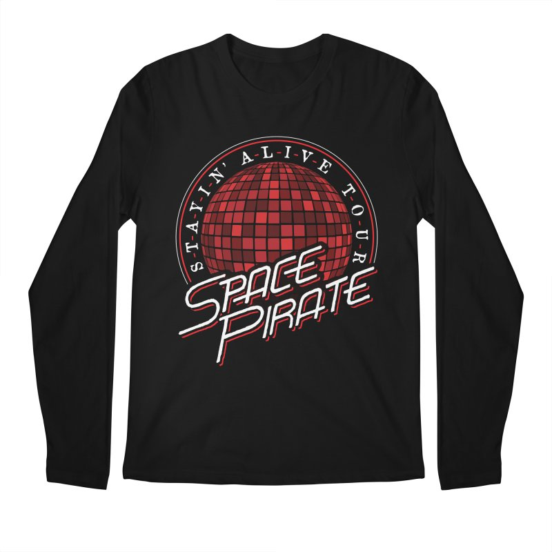 Space Pirate Men's Longsleeve T-Shirt by Teeframed
