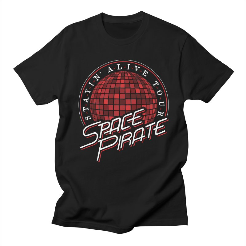 Space Pirate Men's Regular T-Shirt by Teeframed