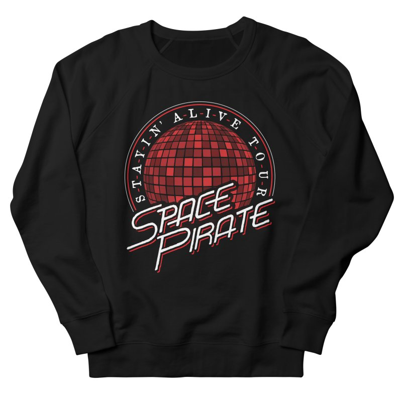 Space Pirate Women's French Terry Sweatshirt by Teeframed