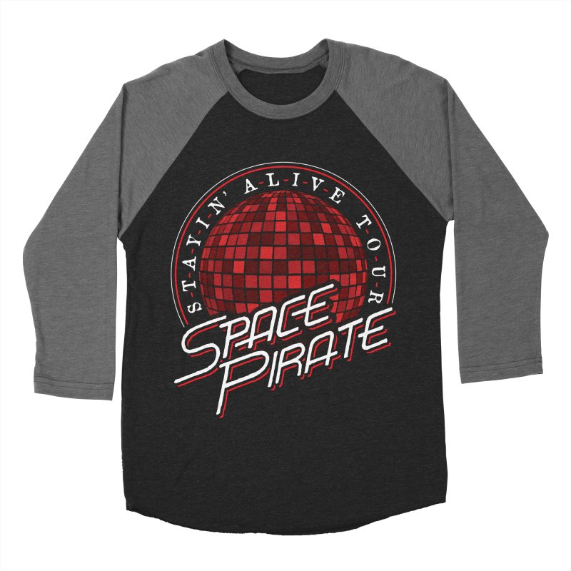 Space Pirate Men's Baseball Triblend Longsleeve T-Shirt by Teeframed
