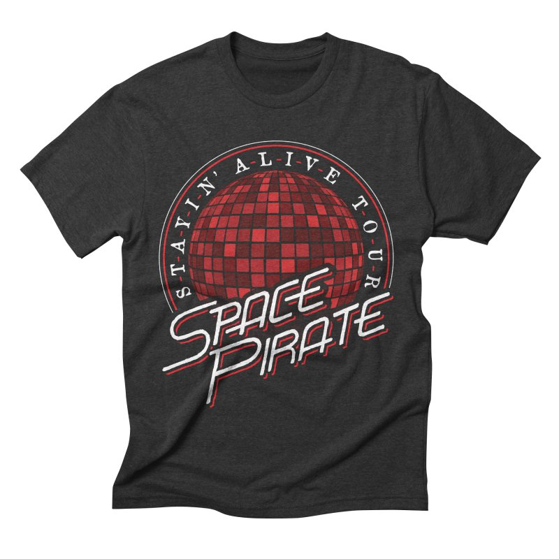 Space Pirate Men's Triblend T-shirt by Teeframed