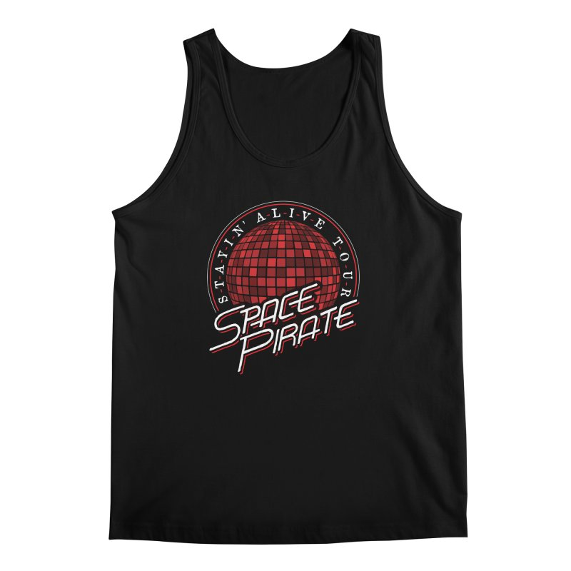 Space Pirate Men's Regular Tank by Teeframed