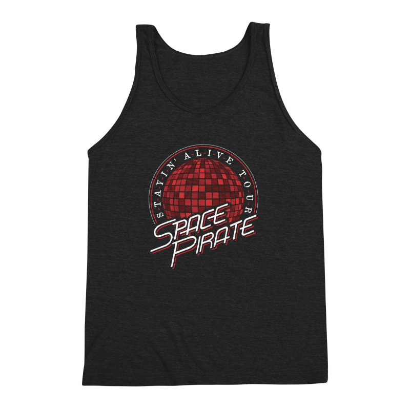 Space Pirate Men's Triblend Tank by Teeframed