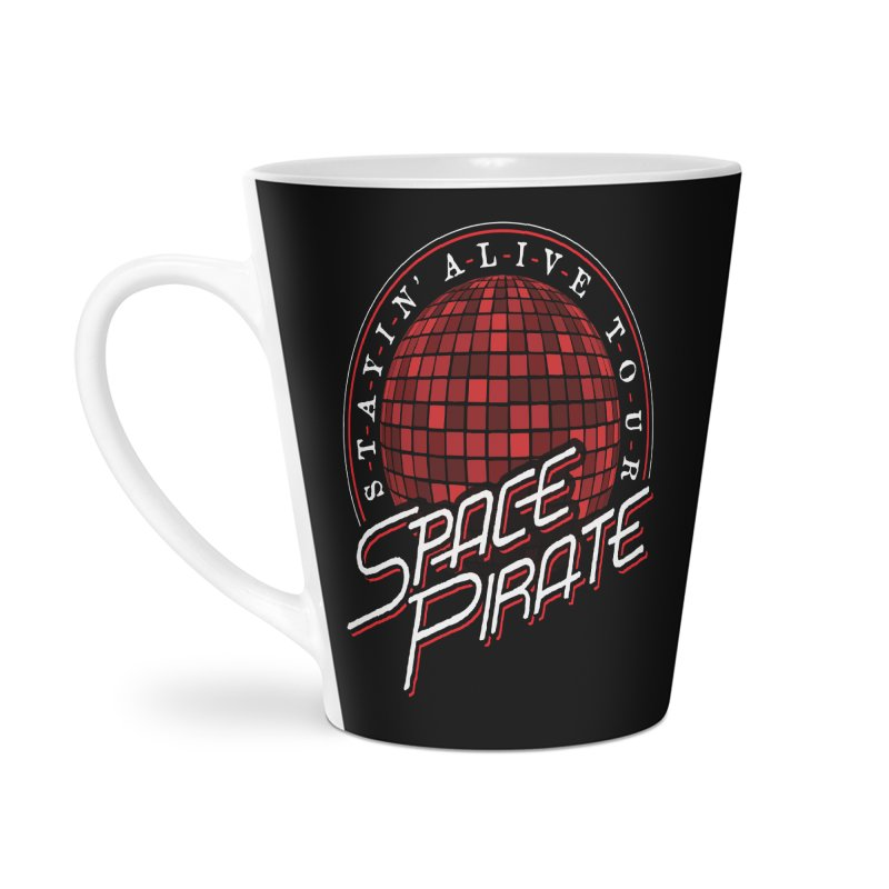 Space Pirate Accessories Latte Mug by Teeframed