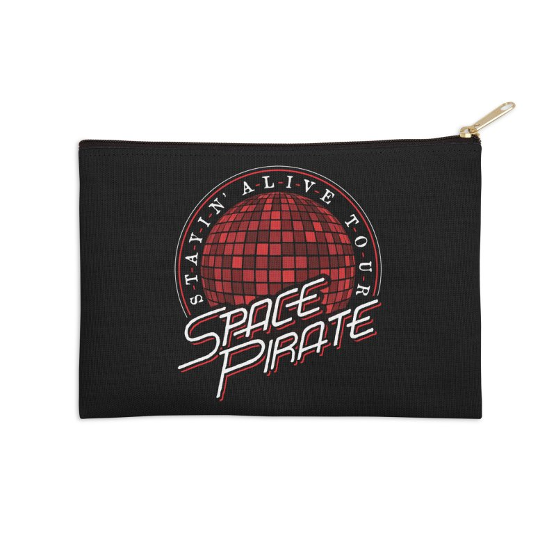 Space Pirate Accessories Zip Pouch by Teeframed