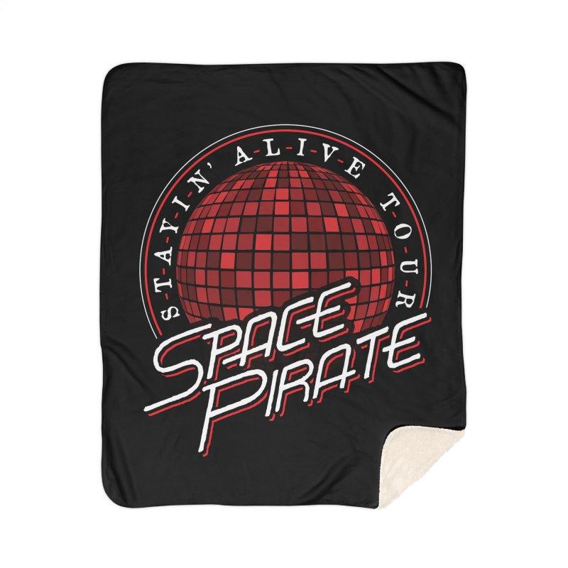 Space Pirate Home Sherpa Blanket Blanket by Teeframed