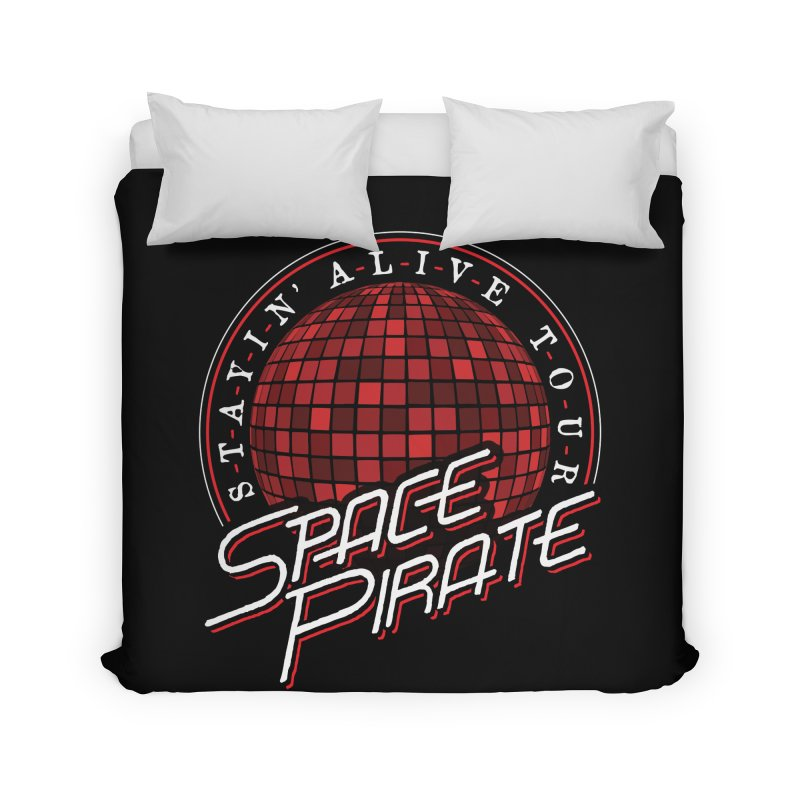 Space Pirate Home Duvet by Teeframed