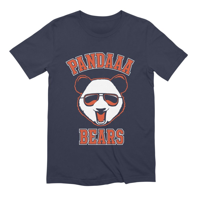 PanDAAA Bears Men's Extra Soft T-Shirt by Teeframed