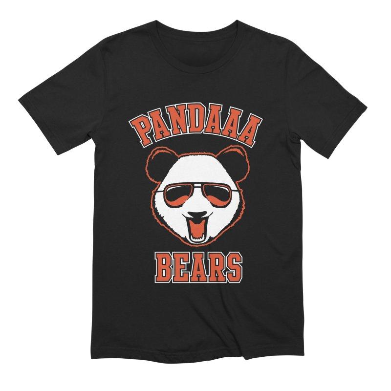 PanDAAA Bears Men's Extra Soft T-Shirt by Teeframed