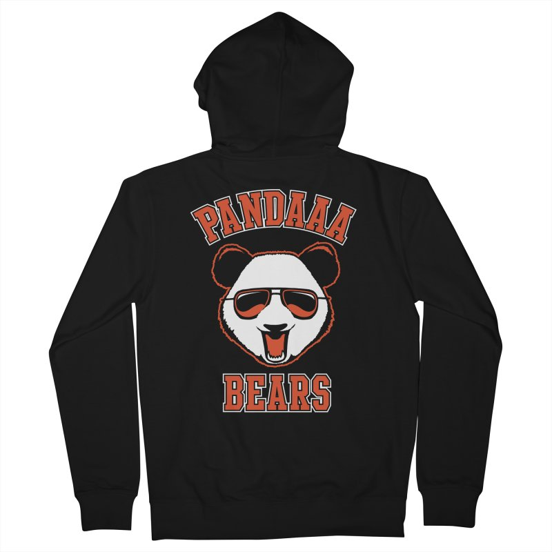 PanDAAA Bears Women's French Terry Zip-Up Hoody by Teeframed