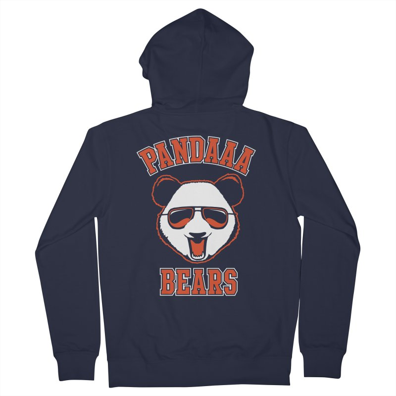PanDAAA Bears Men's French Terry Zip-Up Hoody by Teeframed